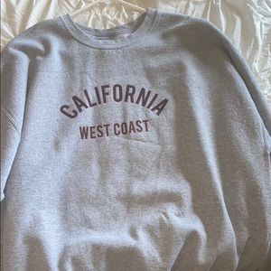 Missguided California west coast crewneck